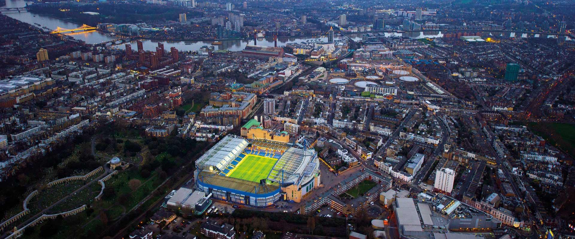Chelsea stadium - London